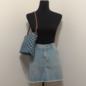 50% OFF SHORT & SASSY Gap Stretch Denim Skirt
